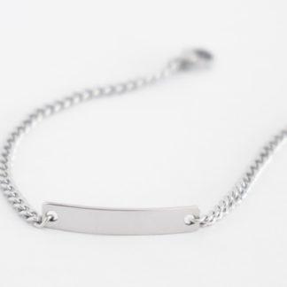 ID Bracelets (stainless steel chain)