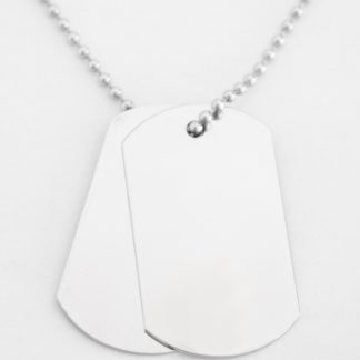 Double Army Dog Tags